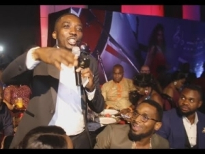 Video: See How Bovi and Comedian Tee-A Roast Dbanj & Other Celebrities At Omotola